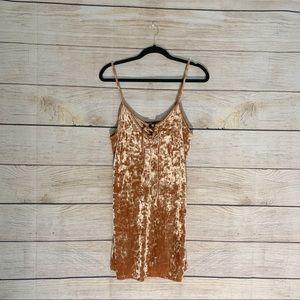 NWT Velvet Dress Forever 21
